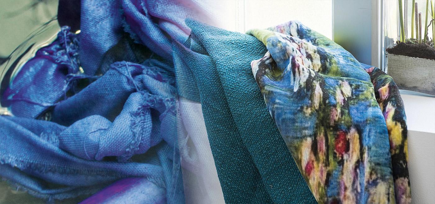 Textiles-blu